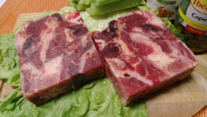 Мясо голов говяжье(жирное)